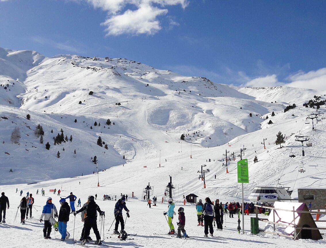 apres ski in dorp ehrwald