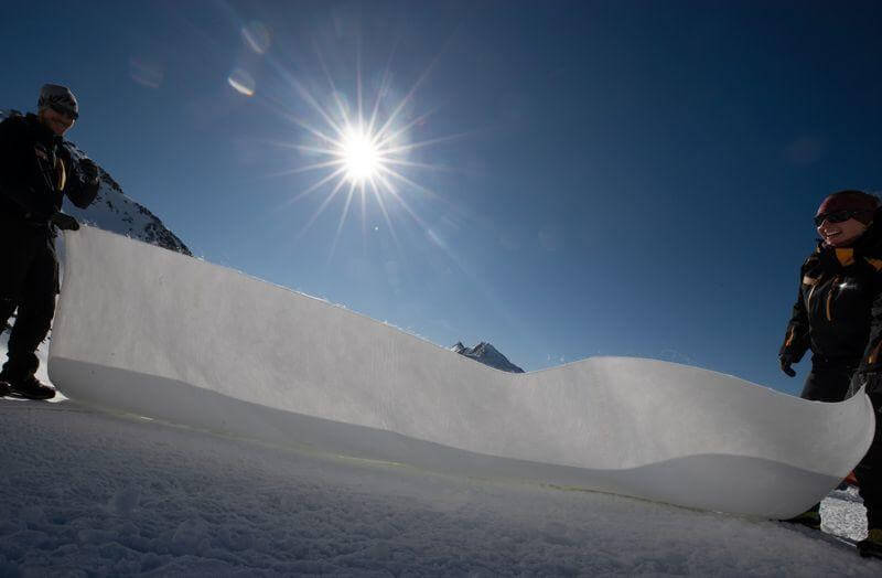 stubai glacier saving
